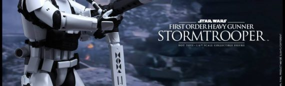 Hot Toys : First Order Heavy Gunner Stormtrooper 1/6 Scale Movie Masterpiece Figure