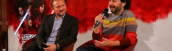 Promo Star Wars The Last Jedi : rencontre avec Rian Johnson – Le reportage Mintinbox