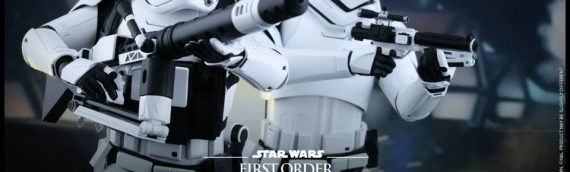Hot Toys : First Order Stormtroopers 1/6 Scale Movie Masterpiece Collectible Figures Set