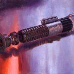 Drew baker lightsaber artwork