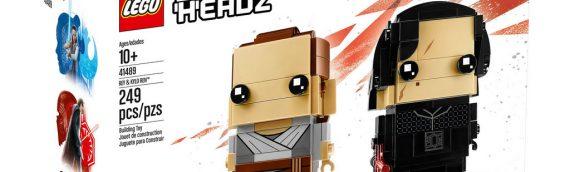 LEGO – Star Wars BrickHeadz Rey & Kylo Ren