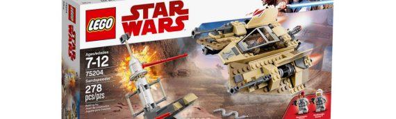 LEGO Star Wars – 75204 Sandspeeder : les infos officielles