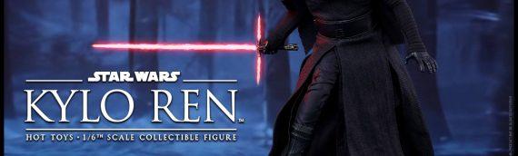 Hot Toys : Kylo Ren 1/6 Scale Movie Masterpiece Figure