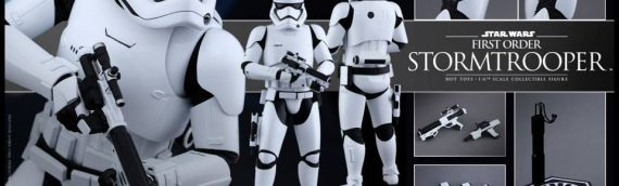 Hot Toys : First Order Stormtrooper 1/6 Scale Movie Masterpiece Figure
