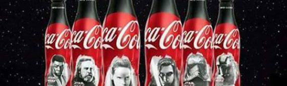 Coca Cola : six bouteilles collector Star Wars The Last Jedi