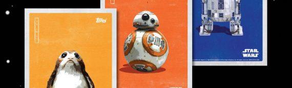 Star Wars The Last Jedi – Des cartes Topps exclu pour les cinémas IMAX