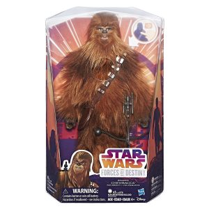 hasbro force of Destiny chewbacca