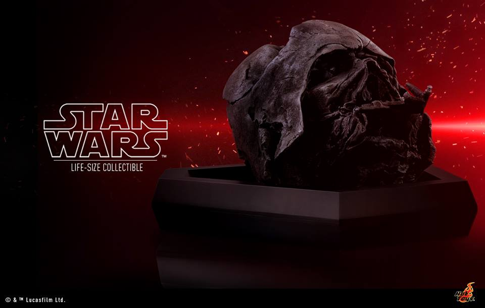 Hot Toys Darth Vader Helmet The Force Awakens