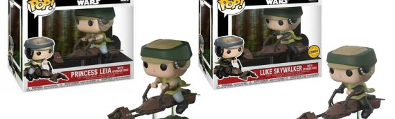Funko POP – Luke & Leia on speeder bike