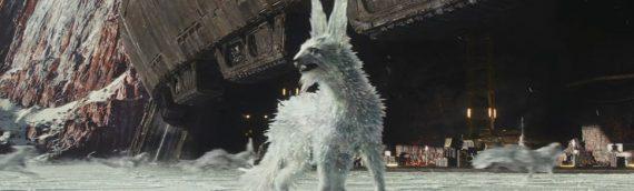Star Wars The Last Jedi : making of les renards de Crait