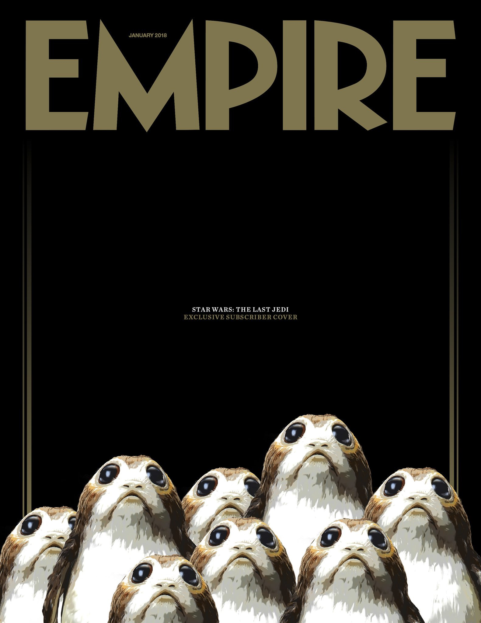 Empire Magasine Star Wars The Last Jedi Porgs