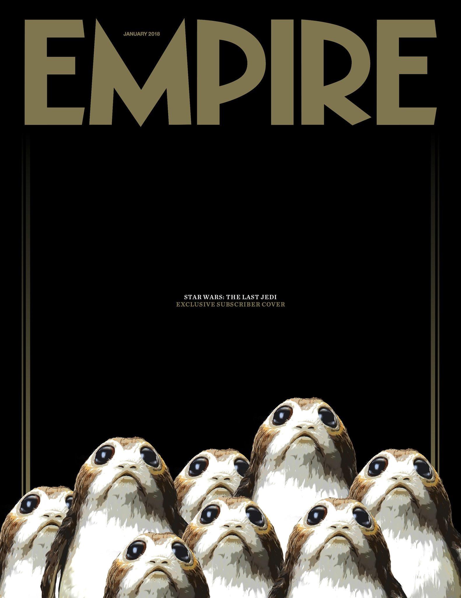 Empire Magasine Star Wars The Last Jedi Porgs
