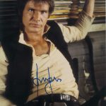 Star Wars Authentics Han Solo Harrison Ford dédicaces