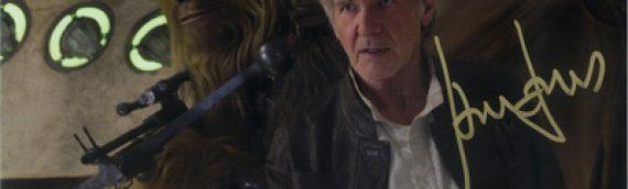 Star Wars Authentics – Harrison Ford en dédicaces… et ça fait mal !