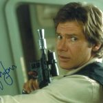 Star Wars Authentics Han Solo Harrison Ford dédicaces