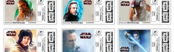 La Poste – Les timbres Star Wars The Last Jedi en version numérique