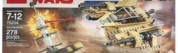 LEGO – 75204 Sandspeeder