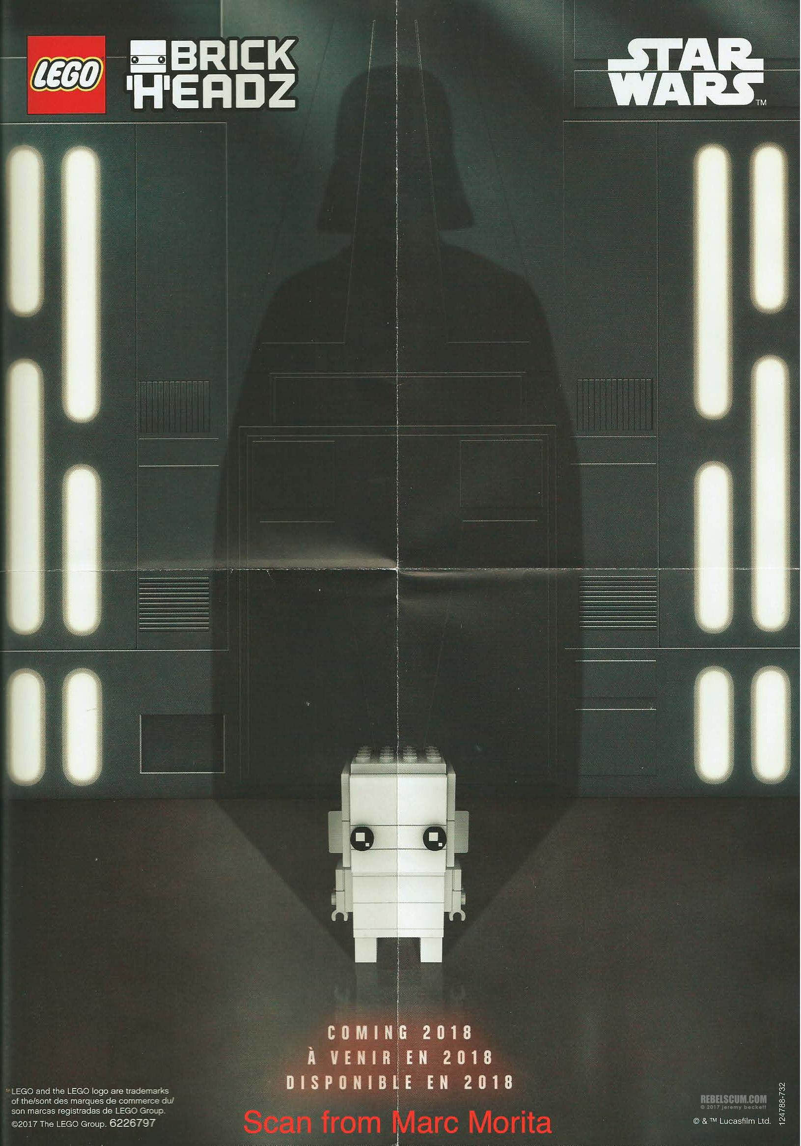 LEGO darth Vader brickheadz