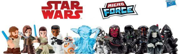 Hasbro : les nouvelles figurines Micro Force
