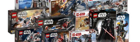 LEGO – Les nouveautés Star Wars de 2018