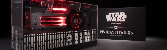 NVidia – Deux cartes graphiques Titan X Star Wars Edition
