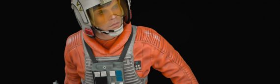 XM Studios – Luke Skywalker Rebel Pilot Star Wars Premium Collectibles