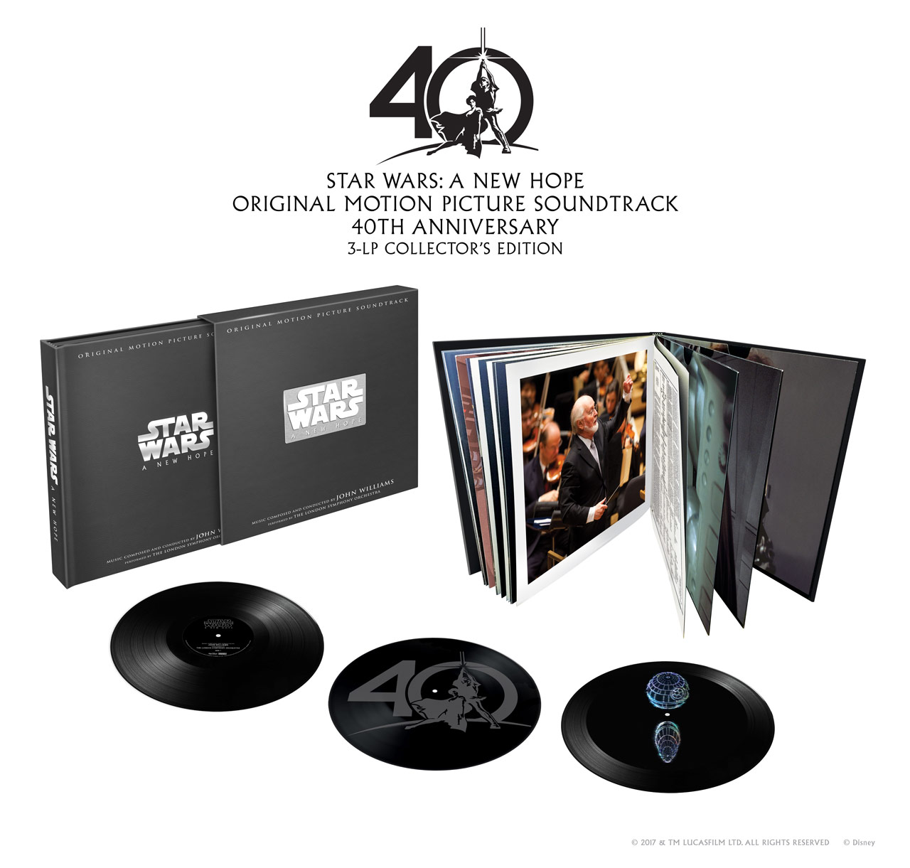 Star Wars A New Hope Vinyl Collector set 40th Anniversary