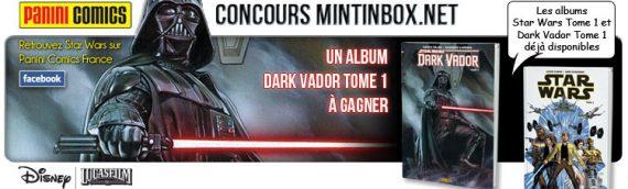 Concours Mintinbox en partenariat avec Panini Comics