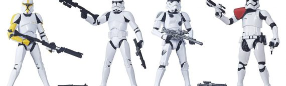 Hasbro : Star Wars The Black Series 6 inch Stormtrooper 4-Pack Exclusive