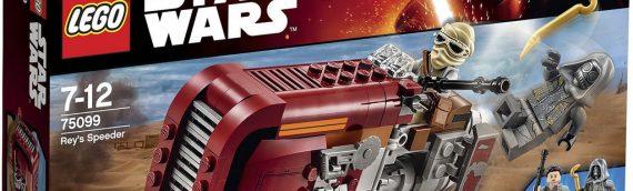 LEGO – Le Speeder de Rey en vidéo