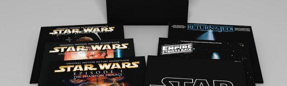 SONY – La BO Star Wars en coffret