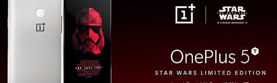 OnePlus 5T : une édition The Last Jedi