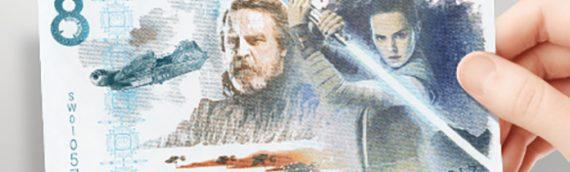 Star Wars The Last Jedi : un billet de banque commémoratif