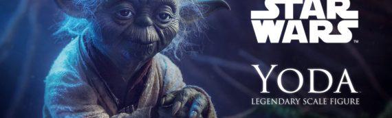 Sideshow Collectibles – Yoda Legendary Scale Figure se dévoile en vidéo