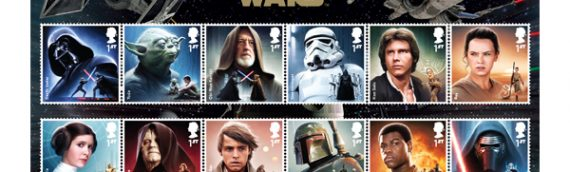 Royal Mail : Série de produits postaux Star Wars