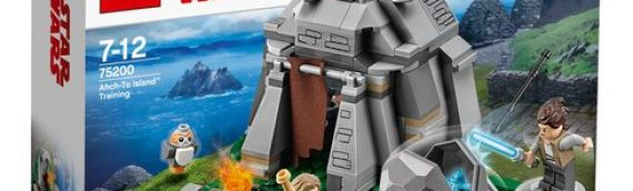LEGO – Star Wars The Last Jedi Ahch-To Island Training