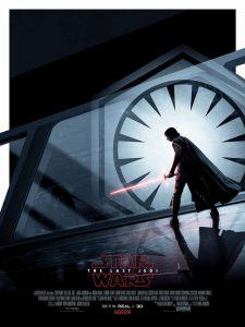 Star Wars The last jedi poster UK