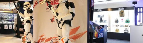 Hot Toys – Une boutique spéciale Star Wars à Tokyo
