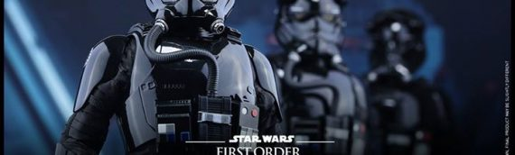 Hot Toys : Star Wars The Force Awakens – TIE Pilote First Order