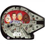 Star Wars Tin Millennium Falcon PEZ Gift Set - Han Solo Chewbacca Rey & BB-8