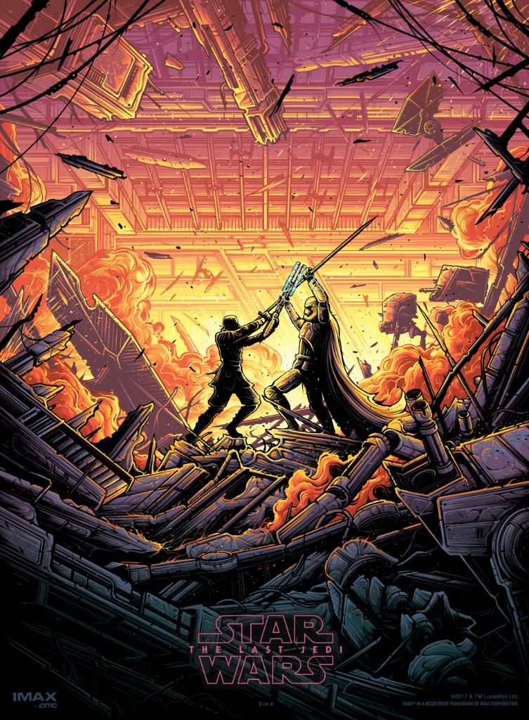 Star Wars The Last Jedi Imax dan Unford