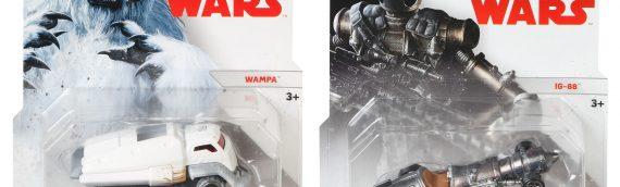 Hotwheels : deux nouveaux véhicules Star Wars