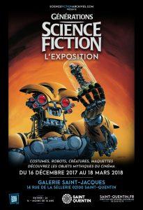 GÉNÉRATIONS SCIENCE-FICTION L'EXPOSITION