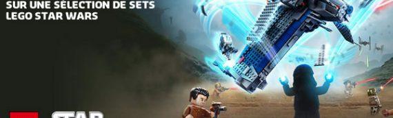 LEGO – 10% de réduction sur les LEGO Star Wars sur le Shop@Home