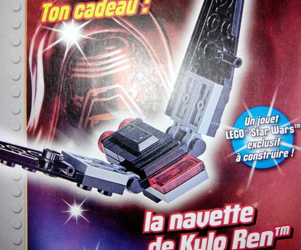 lego star wars magazine kylo ren shuttle