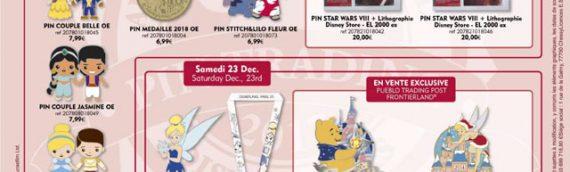 Disneyland Paris – Les pins Star Wars de décembre