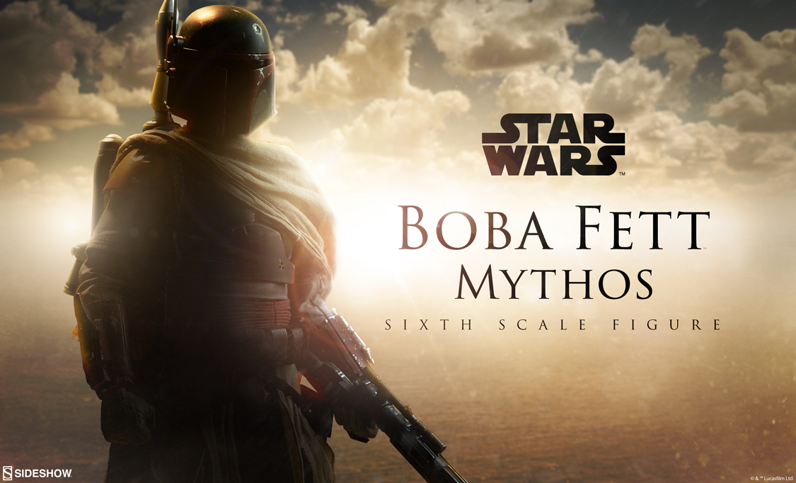 Sideshow Collectibles Boba Fett Star Wars Mythos Sixth Scale Figure