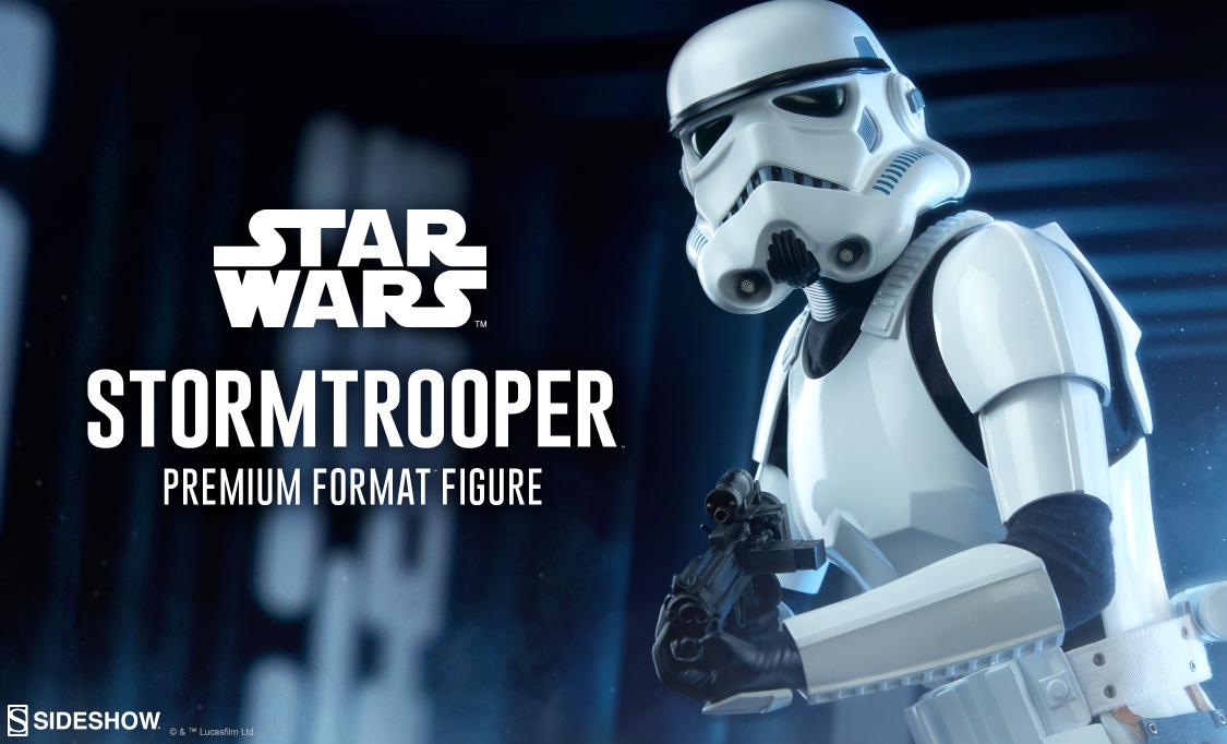 Sideshow Collectibles Stormtrooper Premium Format