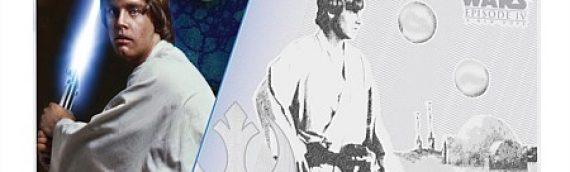 NZ Mint : ANH Luke Skywalker 5g Silver Coin Note