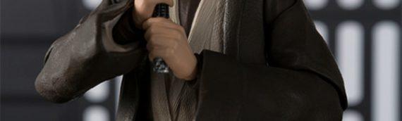 S.H. Figuarts : Obi-Wan Kenobi Épisode IV prend la pose